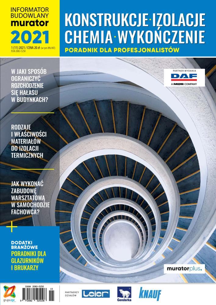 Konstrukcje, Izolacje, Chemia, Wykończenie 2021 - PDF