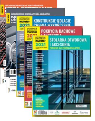 Informatory Budowlane + Informatory Instalacyjne 2021 + Katalog urządzamy dom i mieszkanie