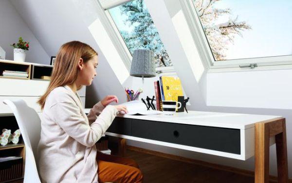 Energooszczędne okna FAKRO: widne i komfortowe poddasze